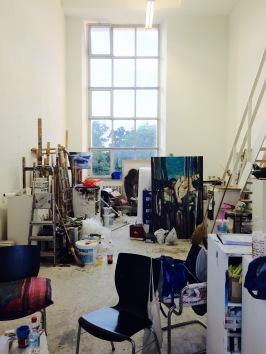 """Blick in eine """"Rumpelkammer"""" der Kunst - kreativ heißt eben nicht sauber und ordentlich."""
